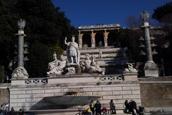 Piazza del Popolo e Villa Borghese
