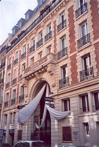 Le bains douches o guia da europa for Les bains douches paris hotel
