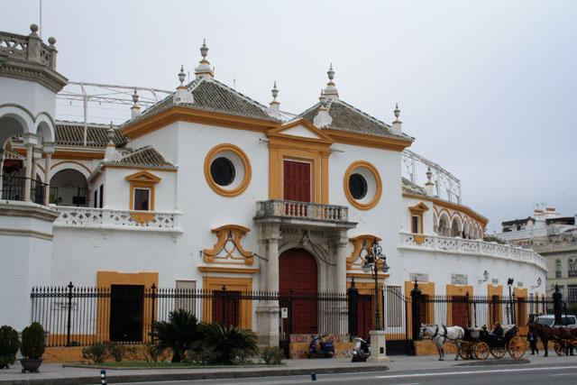Plaza de Toros de La Maestranza - Ponto turístico de Sevilha