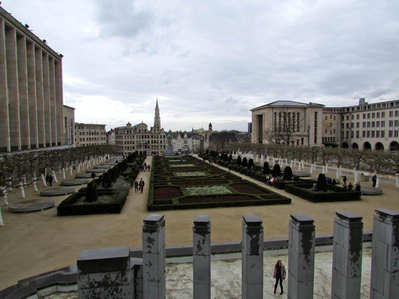 Jardin du Mont des Art - Bruxelas
