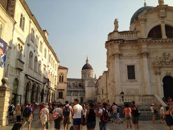 O belíssimo interior da Cidade Antiga de Dubrovnik