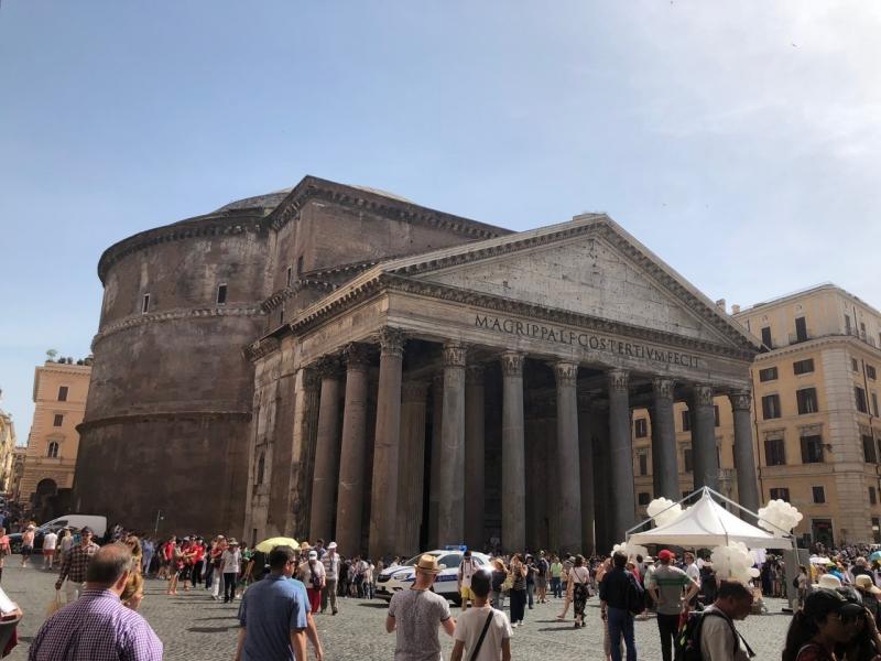 Panteão Romano - Ótimo passeio em Roma