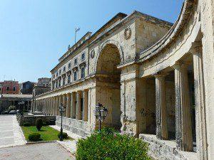 Pontos turísticos de Corfu