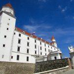 Fachada do Castelo de Bratislava
