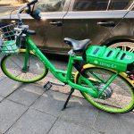 Aluguel de bicicleta Lime em Londres