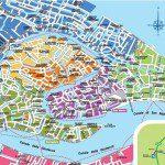 Mapa de Veneza